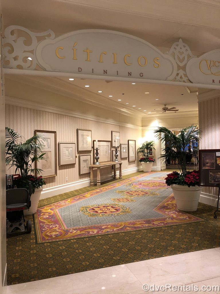 Dining options at Disney's Grand Floridian Resort & Spa