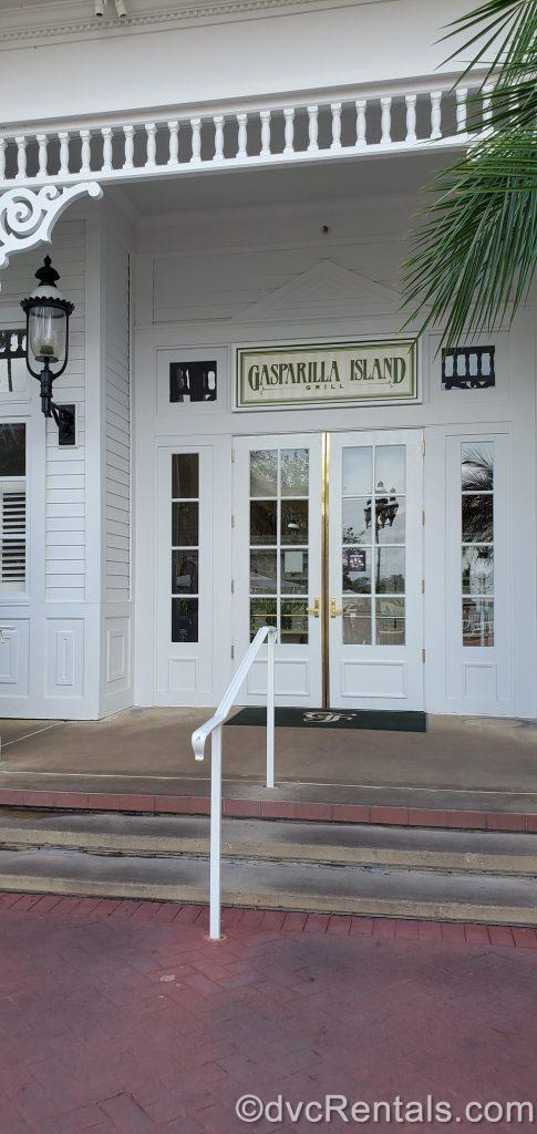 Entrance to Gasparilla Island Grill at Disney's Grand Floridian Resort & Spa