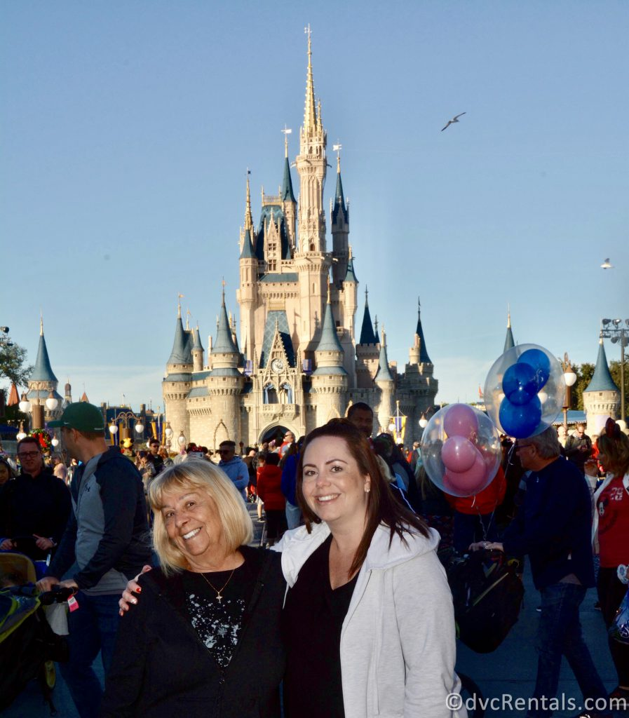 Team Member Stacy with her Mom at WDW