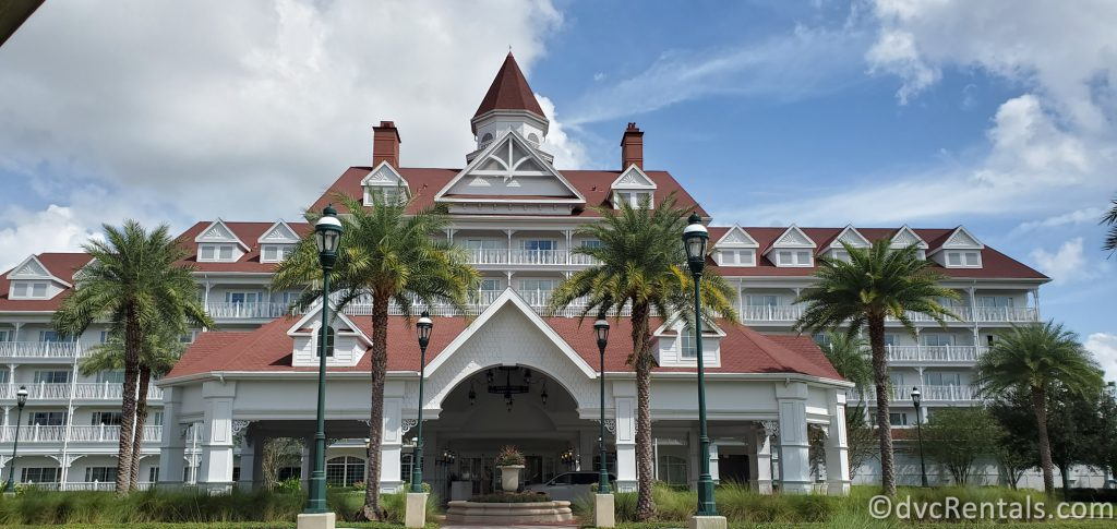 Entrance to the Villas at Disney's Grand Floridian Resort
