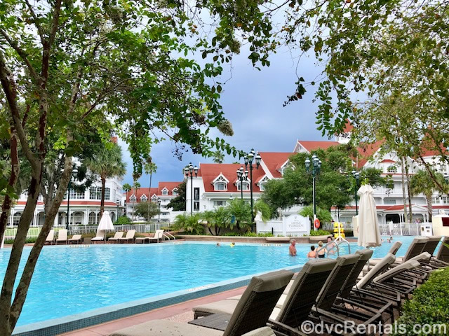 pool at the Villas at Disney's Grand Floridian Resort & Spa