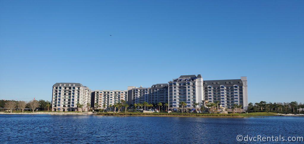 Exterior shot of Disney's Riviera Resort