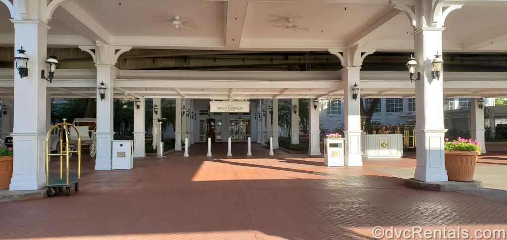 Entrance to the Grand Floridian