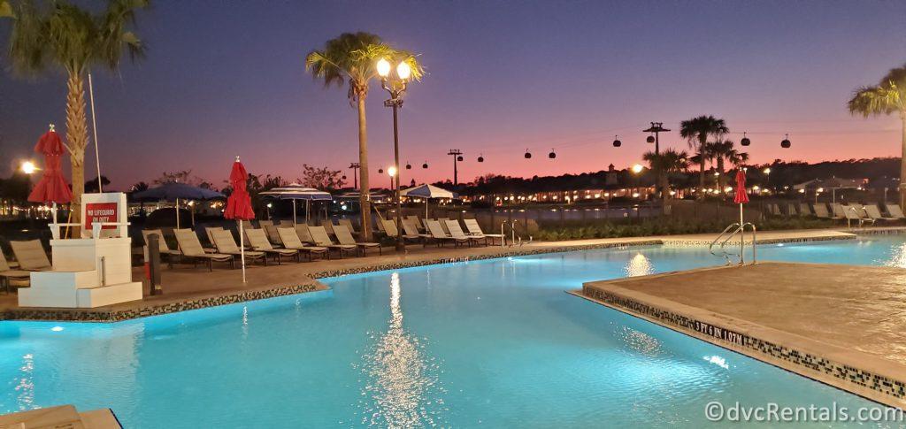 pool at Disney's Riviera Resort