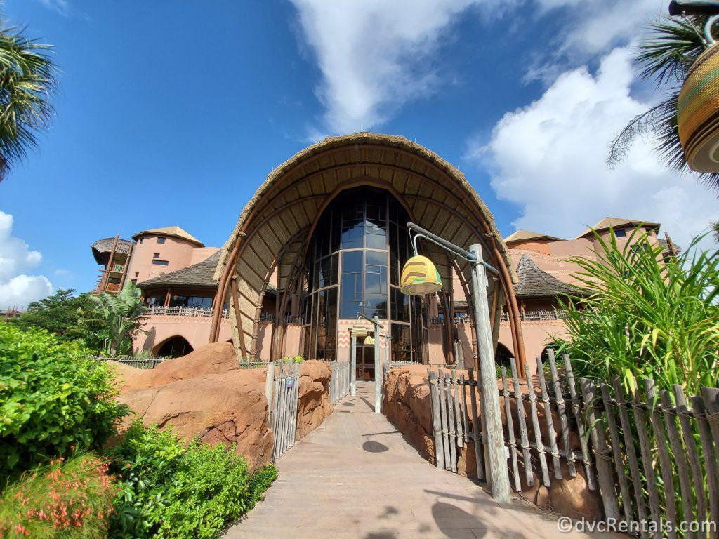 exterior shot of Disney's Animal Kingdom Villas