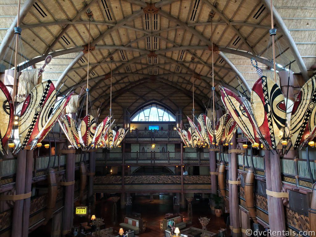 lobby of Disney's Animal Kingdom Villas – Jambo House