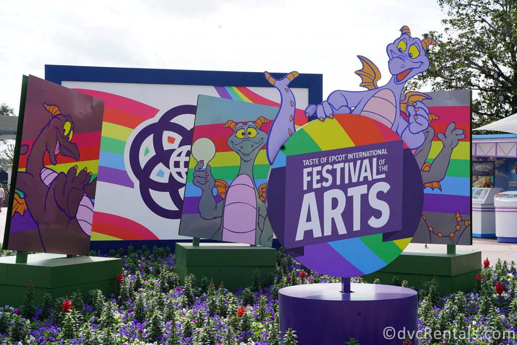 Sign for the 2021 Taste of Epcot International Festival of the Arts
