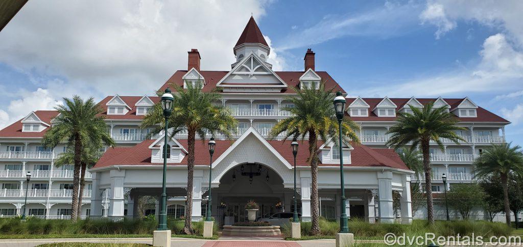 exterior image of the Villas at Disney's Grand Floridian Resort & Spa