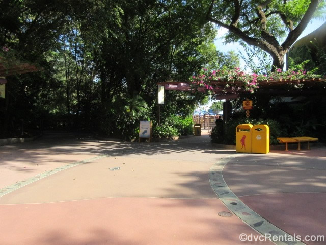 walkway to the Wildlife Express