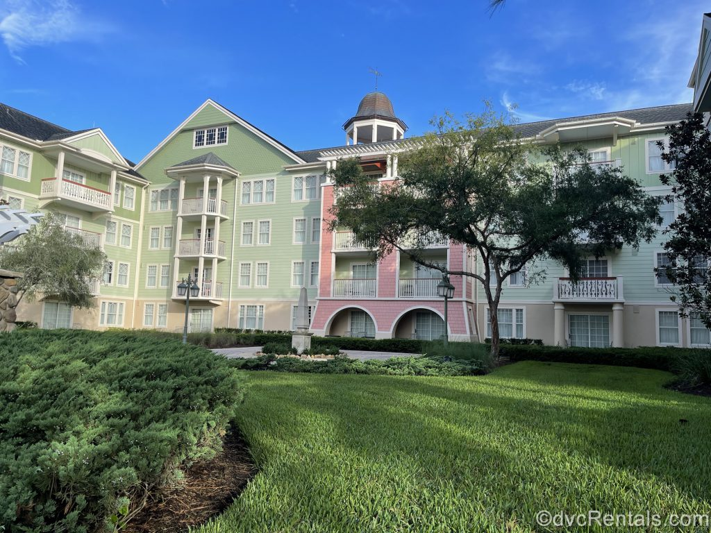 Exterior building at Disney's Saratoga Springs Resort & Spa