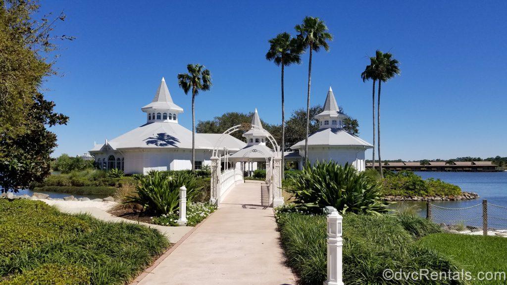 Exterior shot of Disney's Grand Floridian Wedding Pavilion