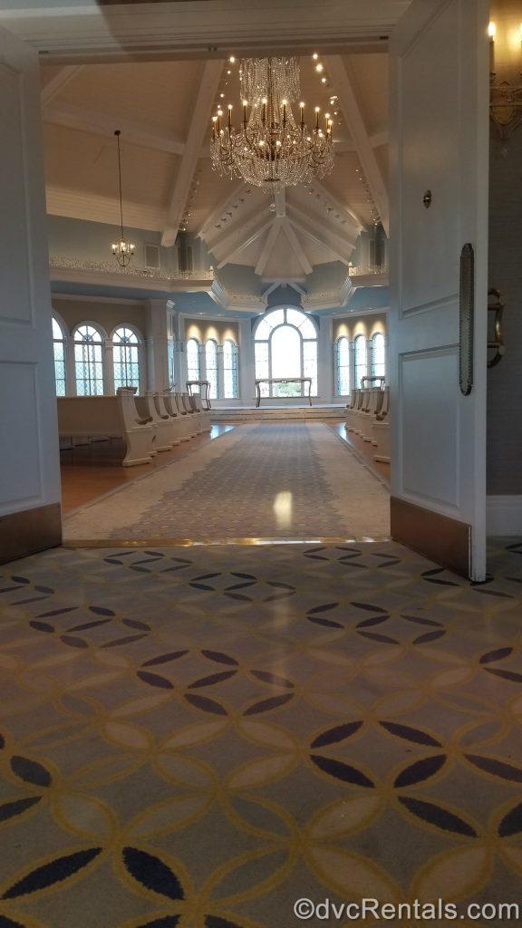 Disney's Grand Floridian Wedding Pavilion