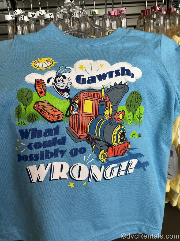 Merchandise from Mickey and Minnie's Runaway Railway