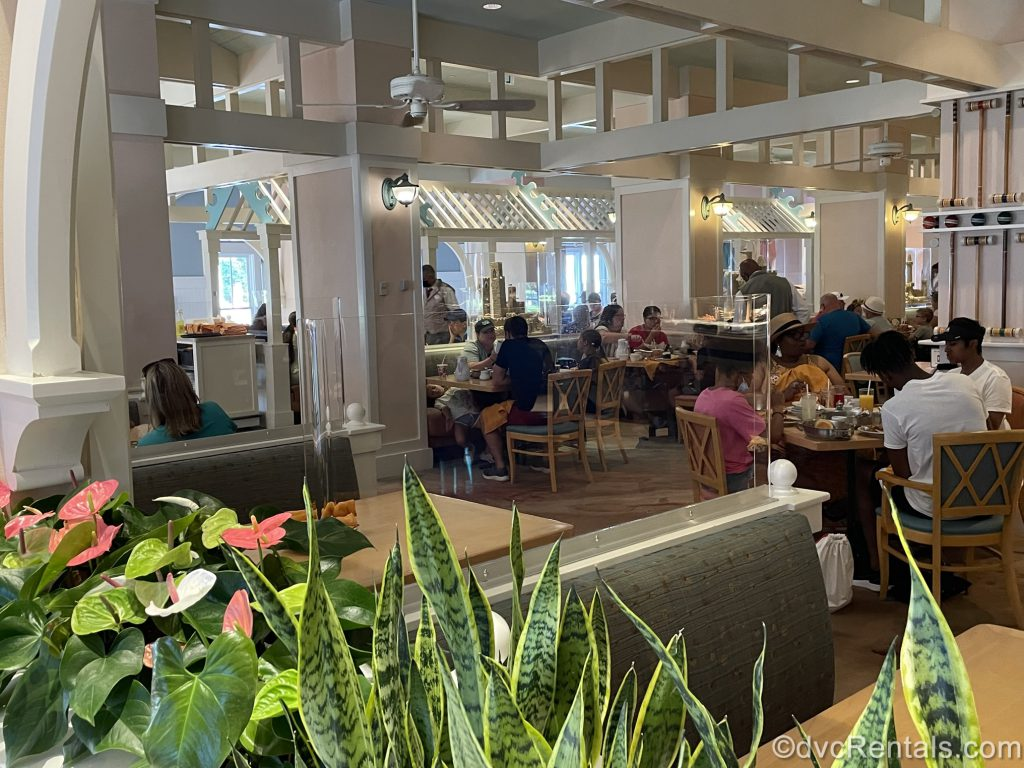 Cape May Café at Disney's Beach Club Villas