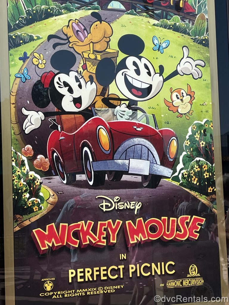 Poster for the Prefect Picnic from Mickey and Minnie's Runaway Railway