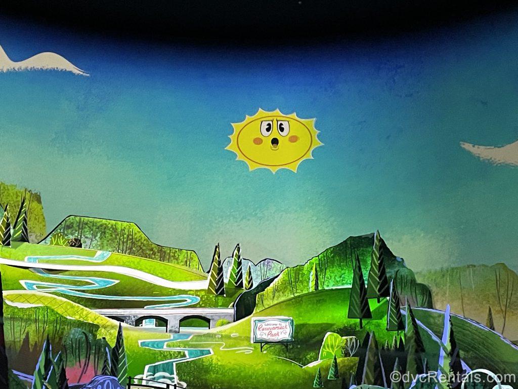 Scene from Mickey and Minnie's Runaway Railway