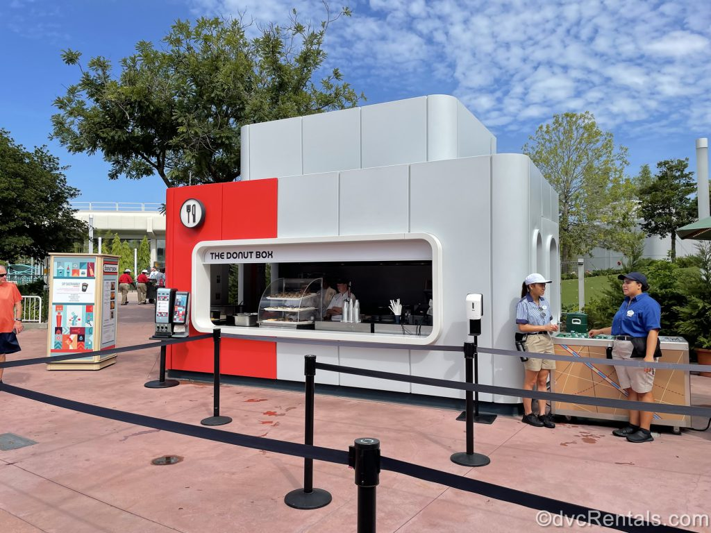 Food booth from the Epcot International Food & Wine Festival