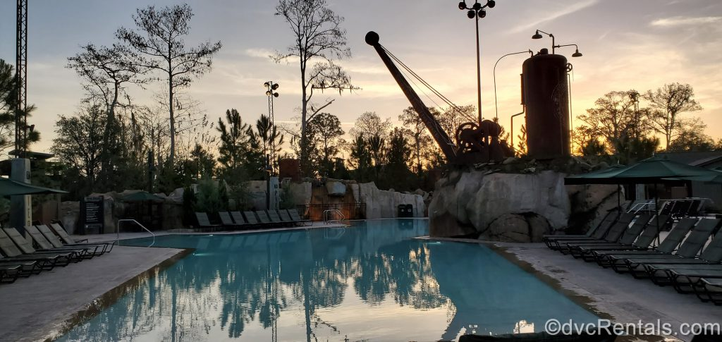 Sunrise at Boulder Ridge Villas at Disney's Wilderness Lodge