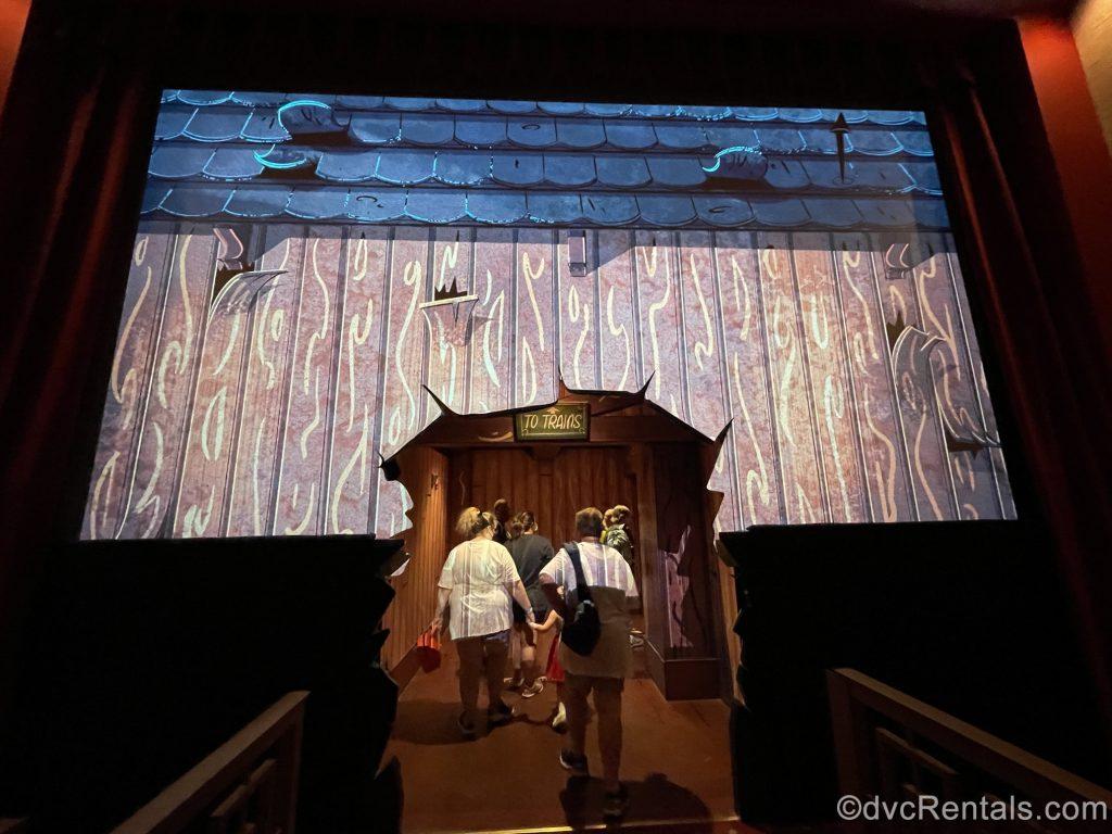 Entrance to Mickey and Minnie's Runaway Railway