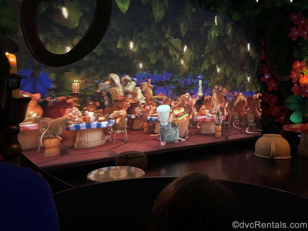 Scene from Remy's Ratatouille Adventure