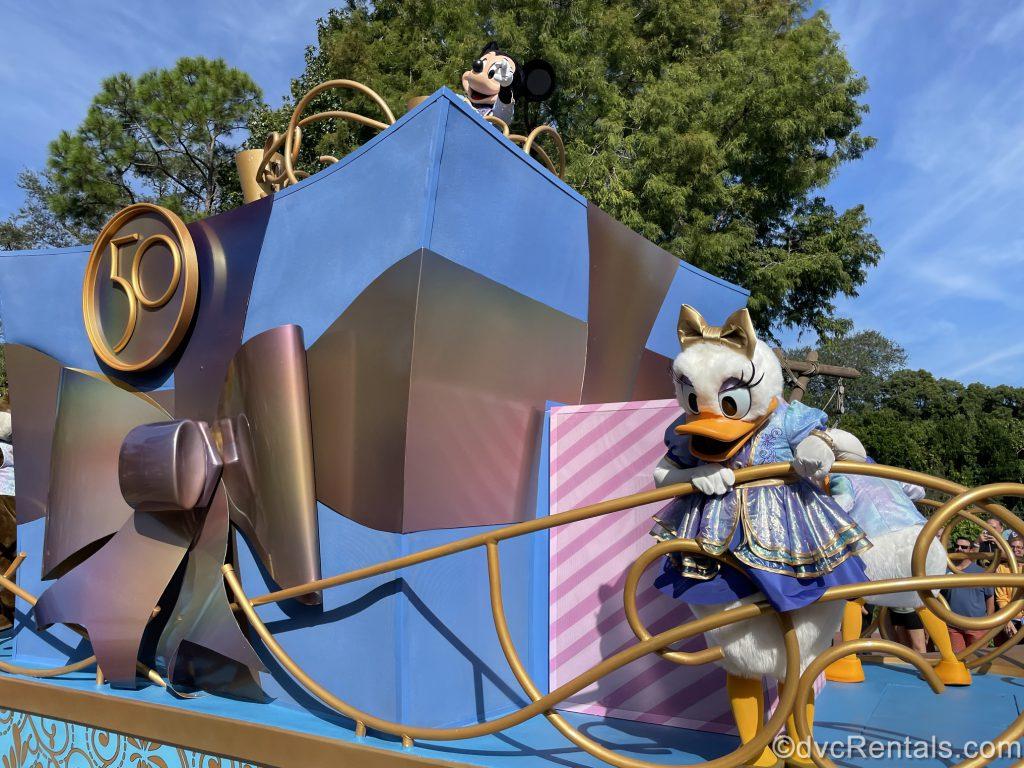 50th Anniversary Character Cavalcade at Magic Kingdom