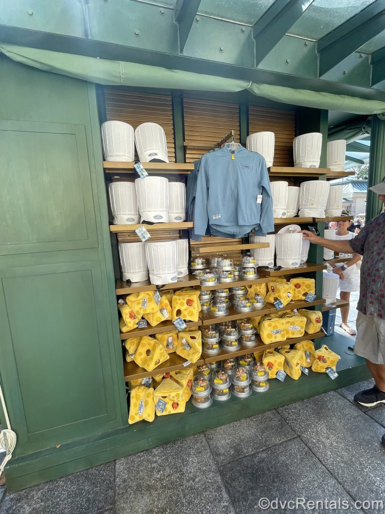merchandise from Remy's Ratatouille Adventure