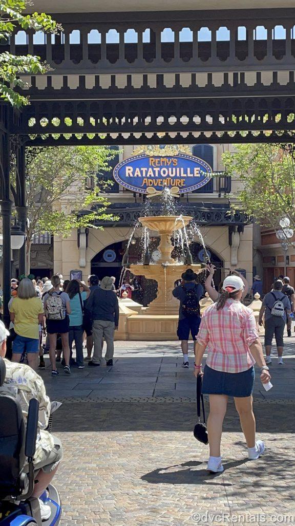 France Pavilion area leading to Remy's Ratatouille Adventure