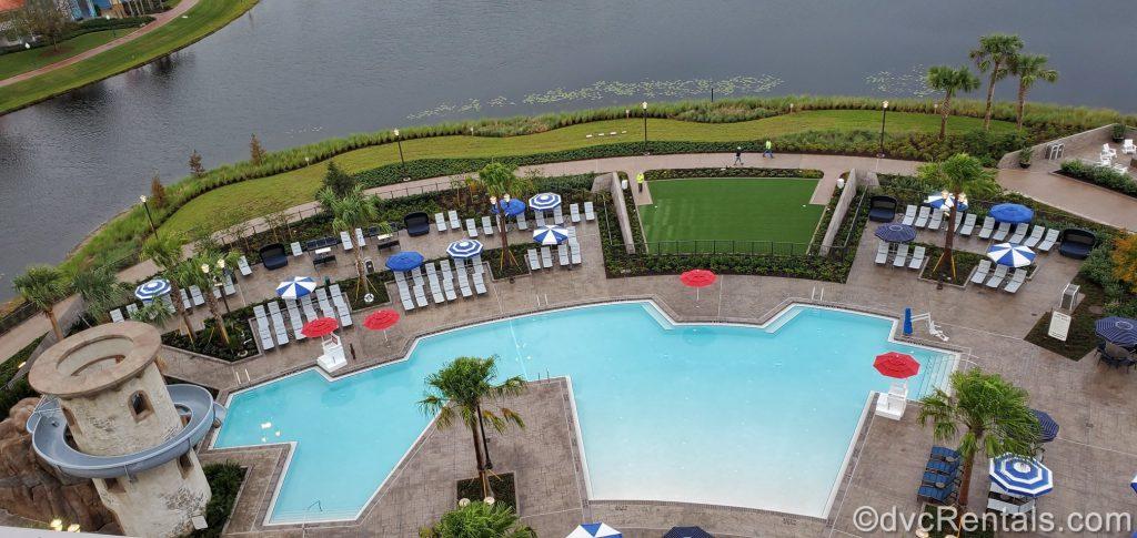 Main pool at Disney's Rivera Resort