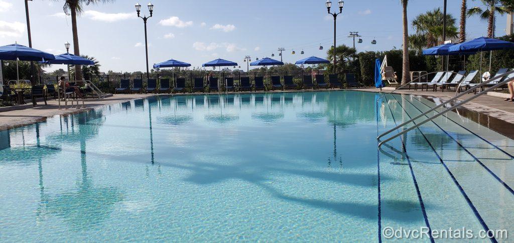 leisure pool at Disney's Riviera Resort